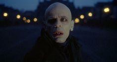 """Klaus Kinski in """"Nosferatu the Vampyre"""" (1979) dir. Werner Herzog / Cinematography by Jörg Schmidt-Reitwein"""