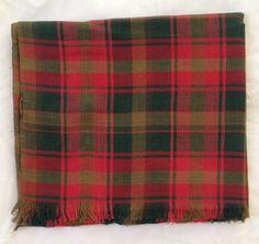 Maple Leaf tartan scarf in 100% cotton