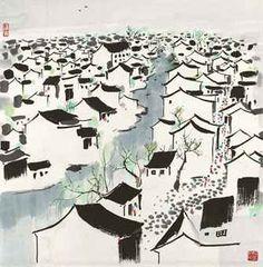 Views of Jiangnan  by Wu Guanzhong