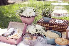 {Vintage Chic} Style Dictionary Inspiration Shoot setting tablescape outside decoration country outdoor wedding