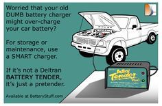 If it's not a Battery Tender, it's just a pretender #batterycharger #batterytender #ecards