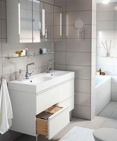 salle de bain godmorgon - ikea | bathroom | pinterest | bath
