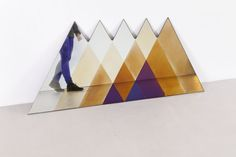 Transience Mirror Triangle L by Transnatural Art & Design Label made in The Netherlands on CrowdyHouse