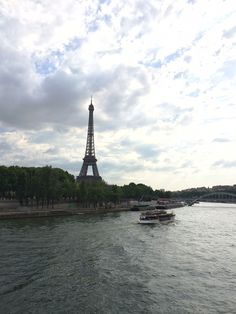 A wonderful view of the Eiffel Tower