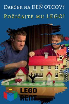 Hľadáte darček pre ocka na Deň otcov?Požičajte mu na jeho sviatok vlastné Lego! Darček, ktorý poteší a nevytvorí žiaden zbytočný odpad. Lego, Baseball Cards, Legos