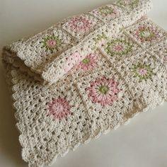 #Crochet blanket from corazónalsol