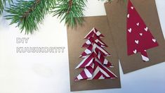 Kuusikortit, Ihana DIY Advent Calendar, Christmas Crafts, Card Making, Holiday Decor, Cards, How To Make, Diy, Instagram, Design