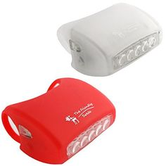 Product review for The Friendly Swede Silicone 7 LED Bike Light Set of Headlight and Rearlight, White and Red … - ABOUT THIS PRODUCT With 7 super bright LEDs on each light, The Friendly Swede's Bike Lights give you maximum visibility at night and in bad weather. Intelligent placement of LEDs allows you to be seen from all angles, not just from oncoming and following traffic. Thanks to their stretchable...
