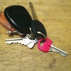 DIY key decor :)