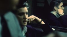Elvis Presley photographed by Alfred Wertheimer.