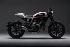 Ducati Scrambler by Skunk Machine
