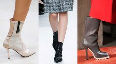 Rejoice! The Newest Ankle Boot Silhouette for Fall 2015 Won't Kill Your Feet
