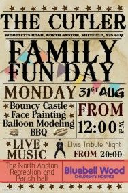 Delightful Family Fun Day. Poster TemplatesTemplates FreeFlyer TemplateFundraising ...