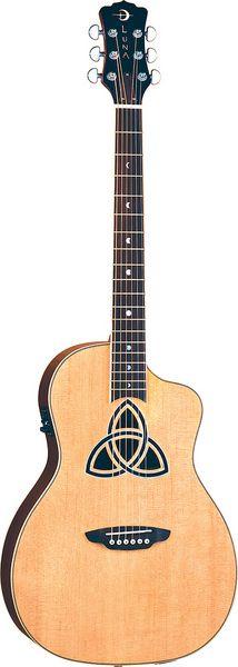 My Amazing Guitar!!!!! Luna Guitars - Trinity Parlor Cutaway Acou/Elec