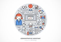 Free Administrative Assistant Vector Design 104765 - https://www.welovesolo.com/free-administrative-assistant-vector-design/?utm_source=PN&utm_medium=welovesolo59%40gmail.com&utm_campaign=SNAP%2Bfrom%2BWeLoveSoLo