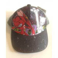 Pokemon Center 2013 Mewtwo Red Genesect Hat