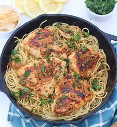 Chicken Piccata: Reason 432 why I love our Meyer lemon tree. Meyer Lemon Tree, Chicken Piccata, Original Recipe, Peanut Butter, Spaghetti, Posts, Friends, Ethnic Recipes, Food