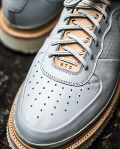 """Nike """"ultra force"""" boot hybrid by sneak Best Sneakers, Custom Sneakers, Custom Shoes, Sneakers Fashion, Fashion Shoes, Nike Kicks, Kicks Shoes, Sports Footwear, Derby"""
