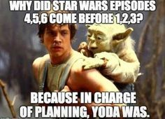 In charge of planning Yoda was