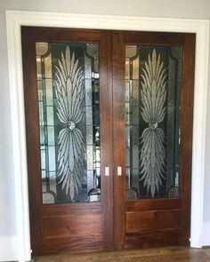 Custom Interior Doors By Art Glass By Wells. Www.artglassbywells.com