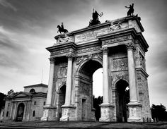 Milan, the Magnificent Arco della Pace - Been there!