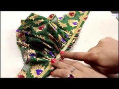 Puff Sleeves Cutting And Stitching, How To Make Perfect Puff Sleeves Sleeves Designs For Dresses, Sleeve Designs, Party Wear One Piece, Stitching Classes, Princess Cut Blouse, Kalamkari Dresses, Ankara Blouse, Lehenga Skirt, Designer Blouse Patterns