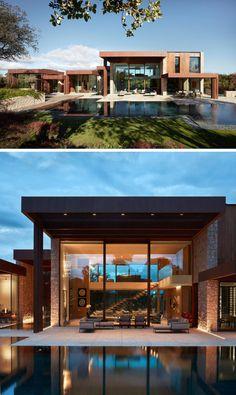 La Finca House by Ramón Esteve Estudio   CONTEMPORIST Modern Architecture House, Modern House Design, Architecture Design, Modern Houses, Modern House Styles, Box House Design, Architecture Definition, Glass House Design, Architecture Artists