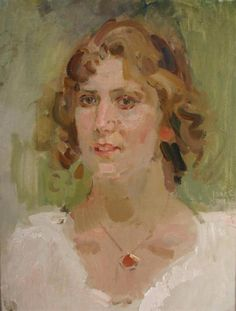 Isaac Lazarus Israels ~   Portrait of a Lady ~   Leslie Smith Gallery
