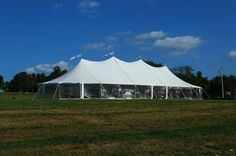 Beautiful tent for wedding at Orchard Farms #sailclothtent #farmwedding