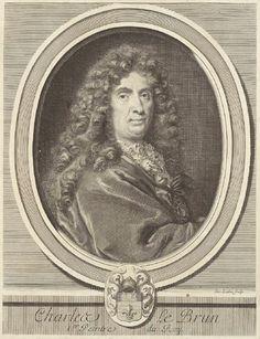 Tout sur l'héraldique : dessin de blasons et d'armoiries: Charles LEBRUN, premier peintre du roi