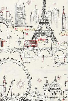illustration de Paris / illustration of Paris