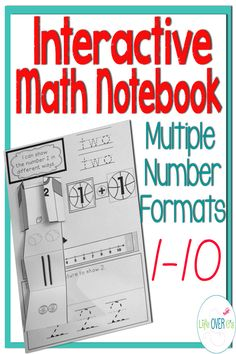 Practice numbers 1-10 with multiple formats such as dice, tally marks, addition and more! $