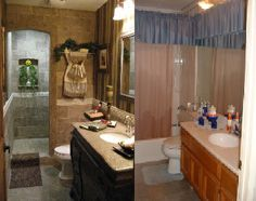 http://www.roomzaar.com/rate-my-space/Bathrooms/Blah-to-Spa-Bath-Tuscan-Makeover/detail.esi?oid=508389  before & after renovation