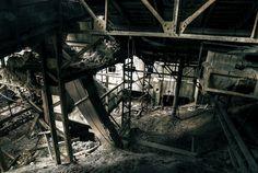 巨大銅山選鉱場跡