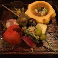 Course #3! #Japanese #kaiseki #autumn #dinner #manhattan #NYCfoodie #nyc #newyork #food #foodie #foodpic #foodgasm #foodgram #foodporn #instafood #foodstagram #nomnom #yum #yummy #delicious #tasty #instafood #instagood #instanom #picoftheday by viewfromtheair