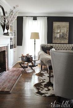 Dear Lillie More Progress in Our DenStudy Living Room Pinterest