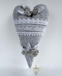 Sweetheart Stuffed toy Gift Cloth sweetheart by CherryGardenDolls