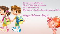 Happy Childrens Day Quotes : We have Happy Children's Day Quotes, Happy Children's Day Messages, Happy Children's Day SMS, Happy Kids Quotes, Quotes For Kids, Childrens Day Quotes, Quotes Children, Children's Day School, Children's Day Wishes, Children's Day Gift, Kids Photography Boys, Happy Children's Day