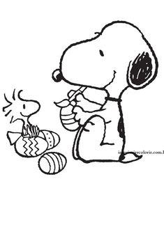Snoopy Páscoa