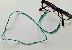 Eye Glasses Chain – Emerald – May Birthstone – May Birthday Gifts May Birthday, Birthday Gifts, Blue Zircon, Organza Bags, Eye Glasses, Beautiful Eyes, Birthstones, Seed Beads, Swarovski Crystals