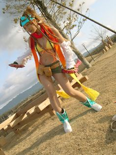 Yeay it's Rikku again! - Rikku cosplay FFX-2