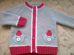 Örgü bebek ceketi