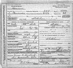 death certificate fred r borland