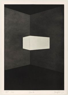 James Turrell • Shanta from First Light, 1989-90 • Aquatint