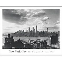 Samuel H. Gottscho: Financial District, From the Hotel Bossert Poster - Posters & Prints - Wall Art - The Met Store