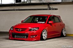 Mazdaspeed 3 lowered +bodykit