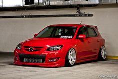 Mazdaspeed 3 lowered +bodykit