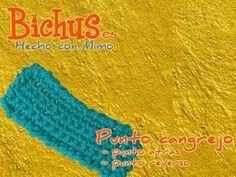 Bichus - Ganchillo Puntos Simples - Punto Cangrejo