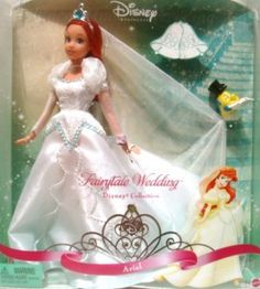 A wedding Ariel doll? LOVE:) could get this for maddie for a present!