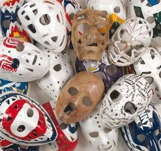 63 Best Goalie Masks images in 2012 | Goalie mask, Masks